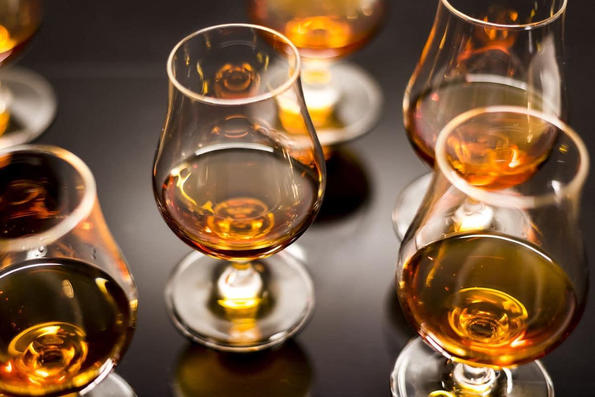 Rum glass