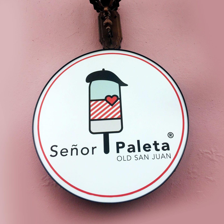 Señor Paleta San Juan
