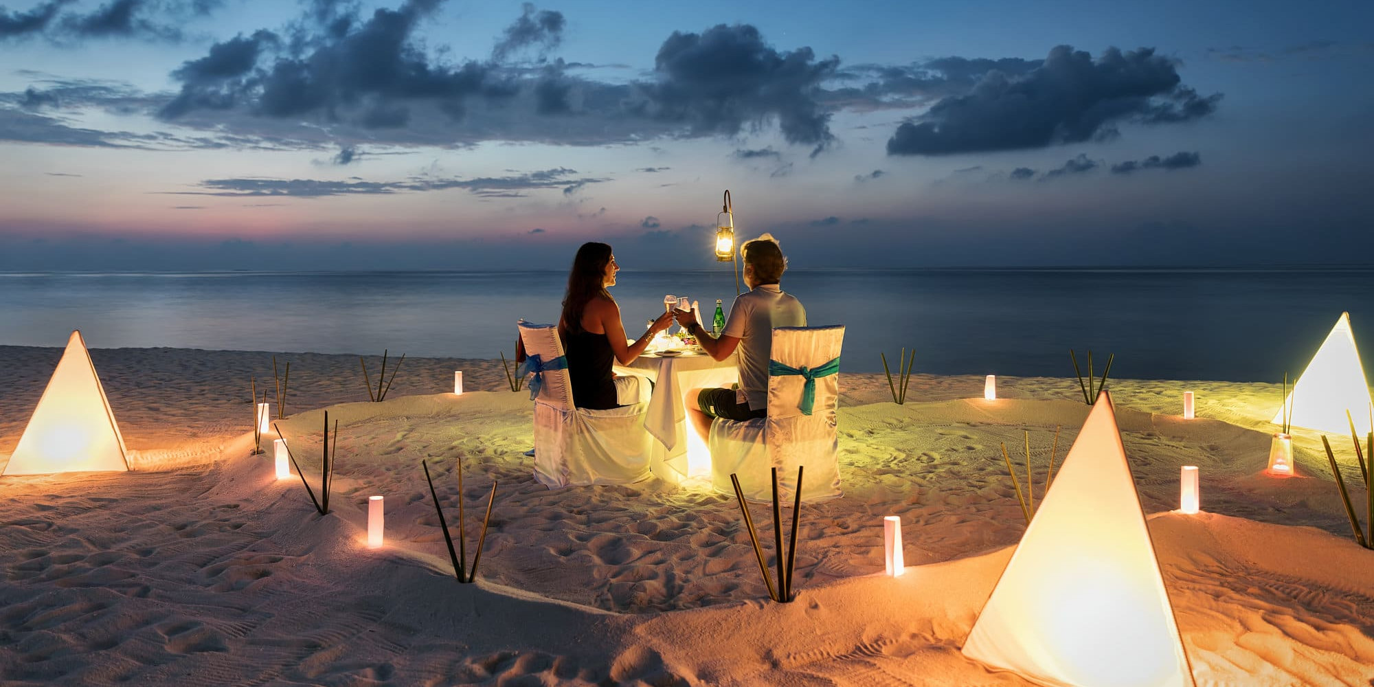 Dinner Sandbank Maldives