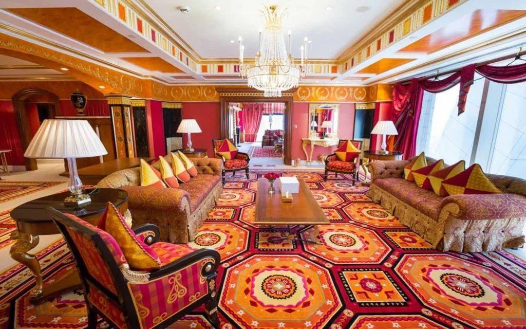 royal suite, Burj Al-Arab, Dubai