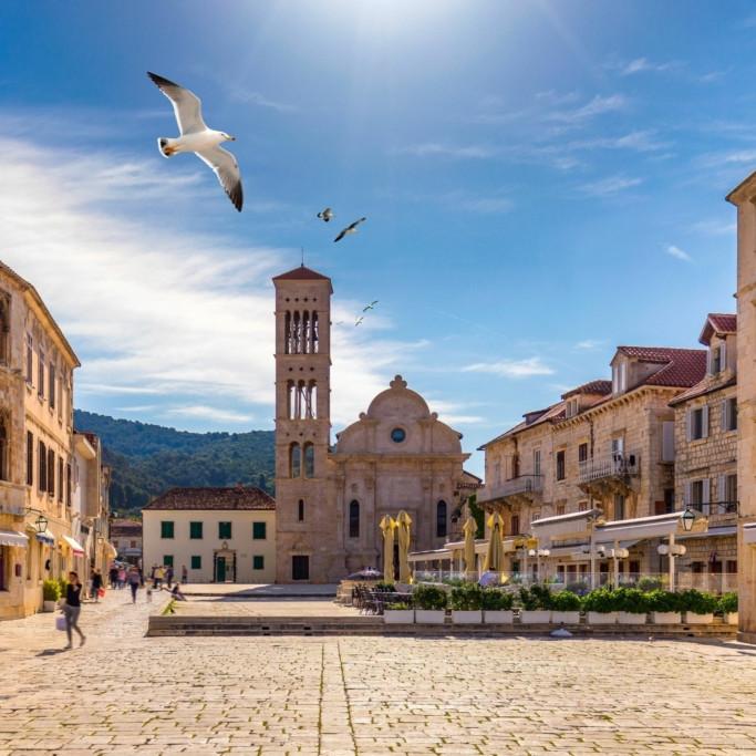 St Stephen Cathedral Hvar Croatia